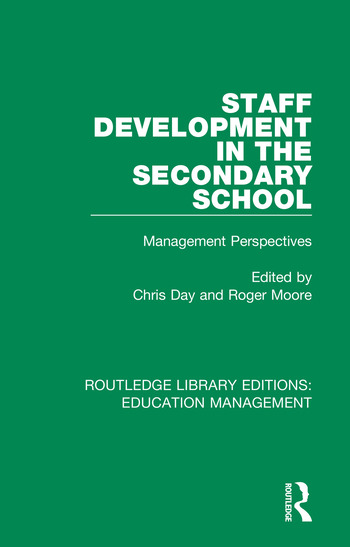 Staff Development in the Secondary School Management Perspectives book cover