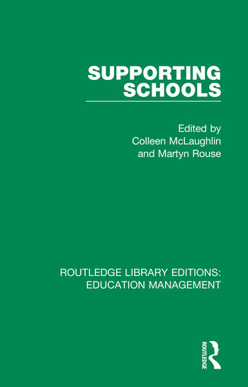 Supporting Schools Advisory Worker's Role book cover