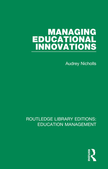Managing Educational Innovations book cover
