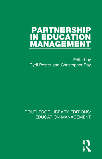 Partnership in Education Management book cover