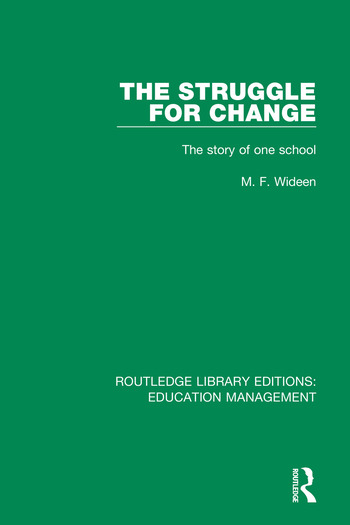 The Struggle for Change The Story of One School book cover