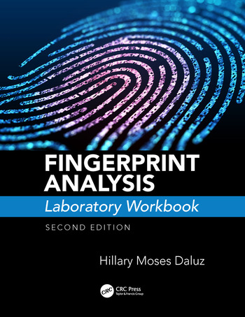 Fingerprint Analysis Laboratory Workbook, Second Edition book cover