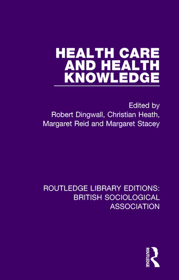 Health Care and Health Knowledge book cover