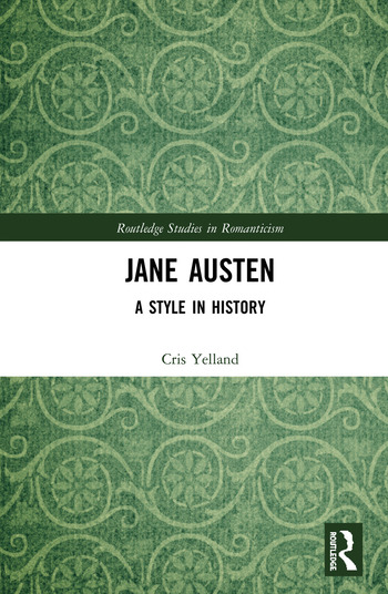 Jane Austen A Style in History book cover