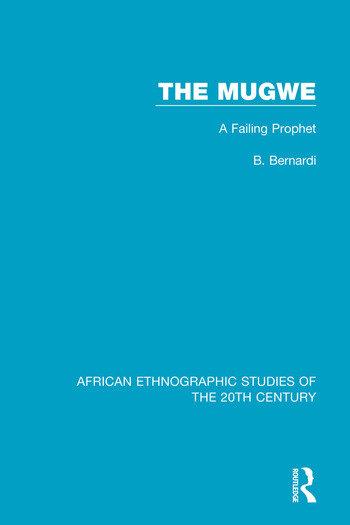 The Mugwe A Failing Prophet book cover