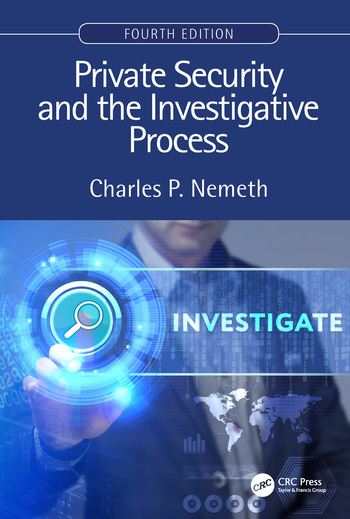 Private Security and the Investigative Process, Fourth Edition book cover