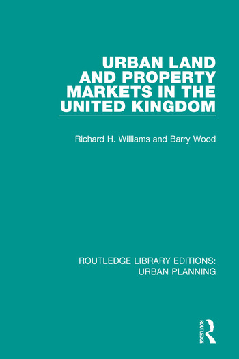 Urban Land and Property Markets in the United Kingdom book cover