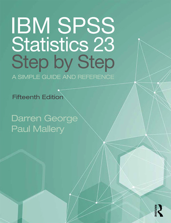 IBM SPSS Statistics 25 Step by Step A Simple Guide and Reference book cover
