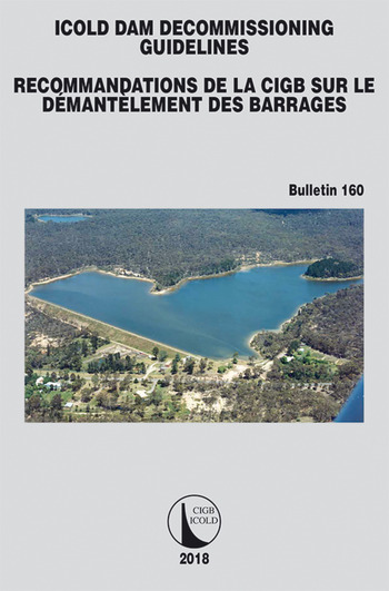 ICOLD Dam Decommissioning - Guidelines book cover