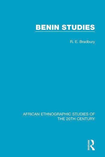 Benin Studies book cover