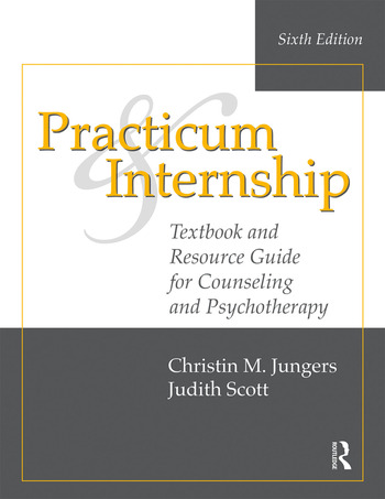 Practicum and Internship Textbook and Resource Guide for Counseling and Psychotherapy book cover