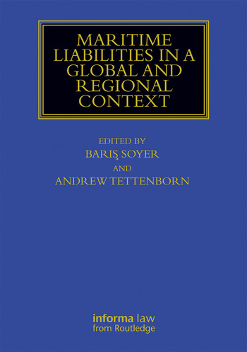 Maritime Liabilities in a Global and Regional Context book cover