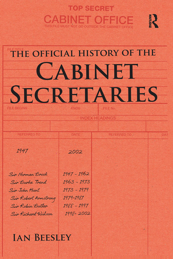The Official History of the Cabinet Secretaries book cover