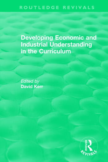 Developing Economic and Industrial Understanding in the Curriculum (1994) book cover