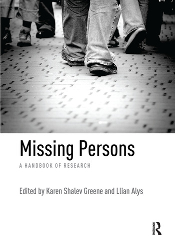Missing Persons A handbook of research book cover