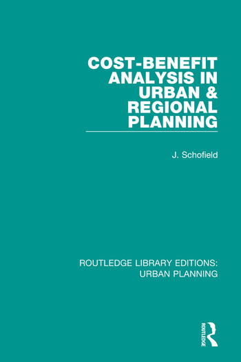 Cost-Benefit Analysis in Urban & Regional Planning book cover