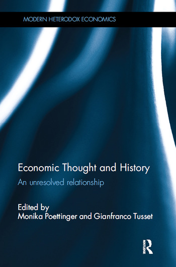 Economic Thought and History An unresolved relationship book cover