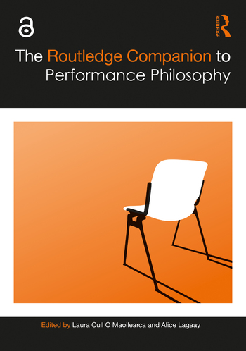 The Routledge Companion to Performance Philosophy book cover