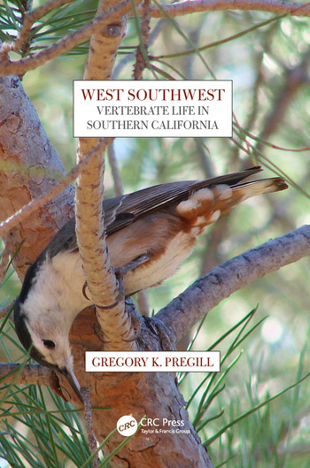 West Southwest Vertebrate Life in Southern California book cover
