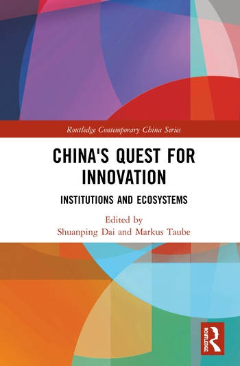 China's Quest for Innovation Institutions and Ecosystems book cover