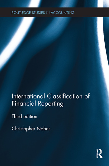 International Classification of Financial Reporting Third Edition book cover