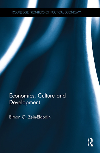 Economics, Culture and Development book cover