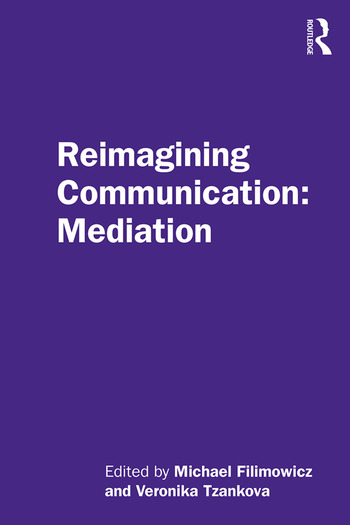 Reimagining Communication: Mediation book cover