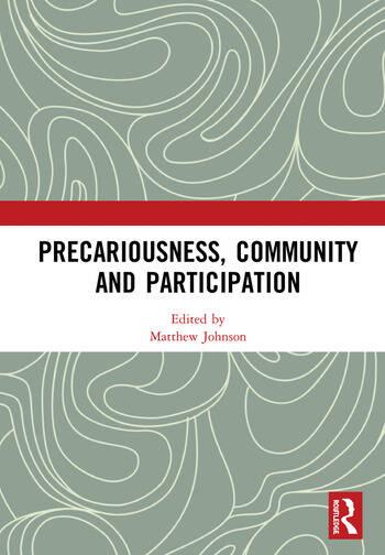 Precariousness, Community and Participation book cover