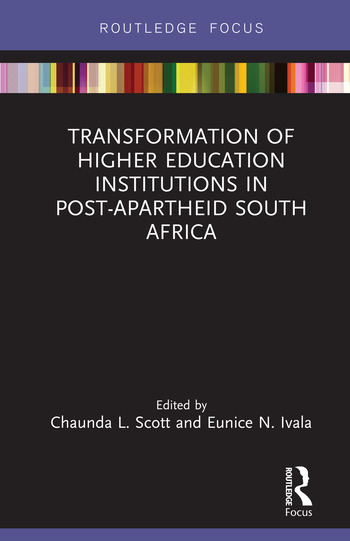 Transformation of Higher Education Institutions in Post-Apartheid South Africa book cover