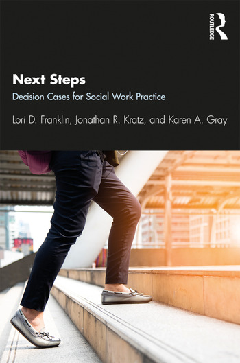 Next Steps Decision Cases for Social Work Practice book cover