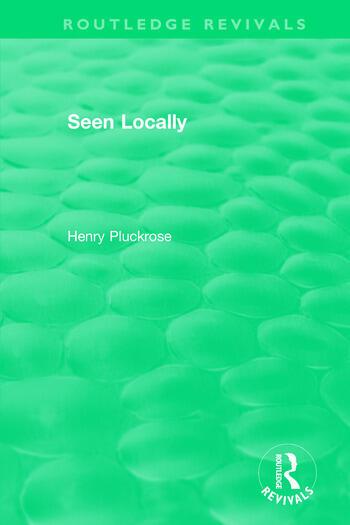 Seen Locally book cover