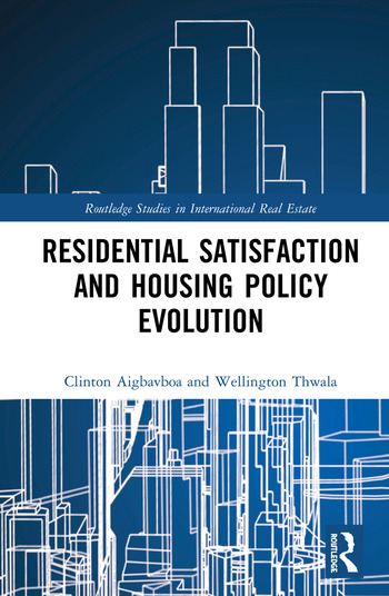 Residential Satisfaction and Housing Policy Evolution book cover