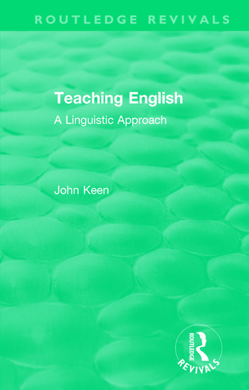 Teaching English A Linguistic Approach book cover