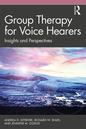 Group Therapy for Voice Hearers Insights and Perspectives book cover