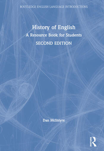 History of English A Resource Book for Students book cover