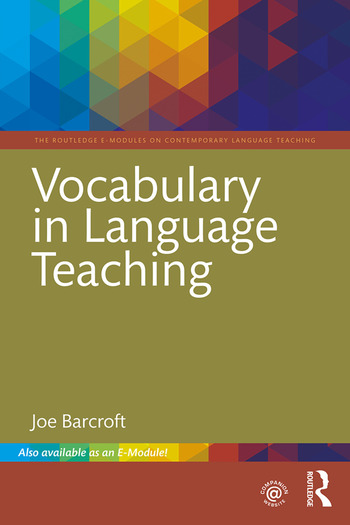 Vocabulary in Language Teaching book cover