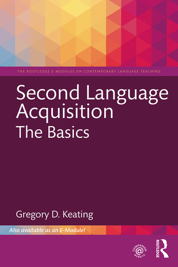 Second Language Acquisition The Basics book cover