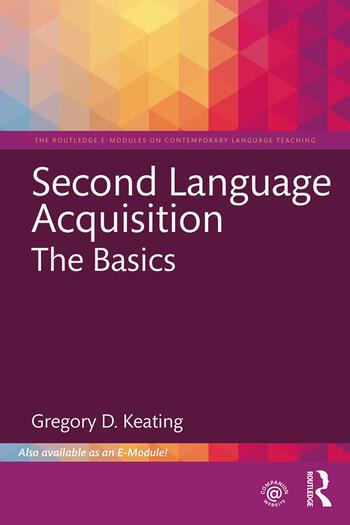 Second Language Acquisition: The Basics, 1st Edition