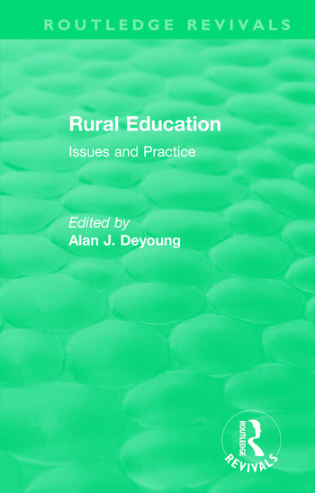 Rural Education (1991) Issues and Practice book cover