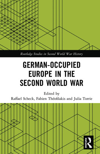 German-occupied Europe in the Second World War book cover