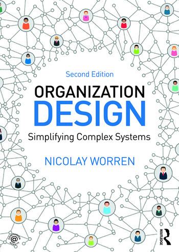Organization Design Simplifying complex systems book cover