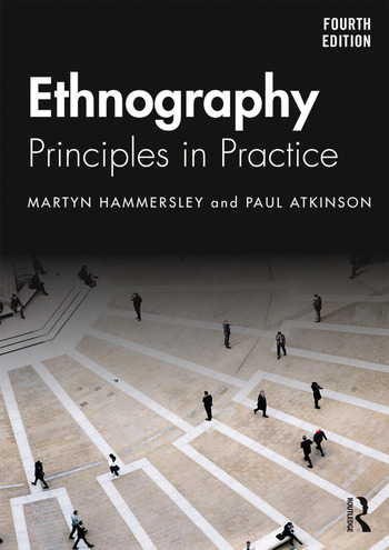 Ethnography Principles in Practice book cover