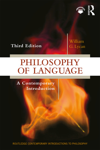 Philosophy of Language A Contemporary Introduction book cover