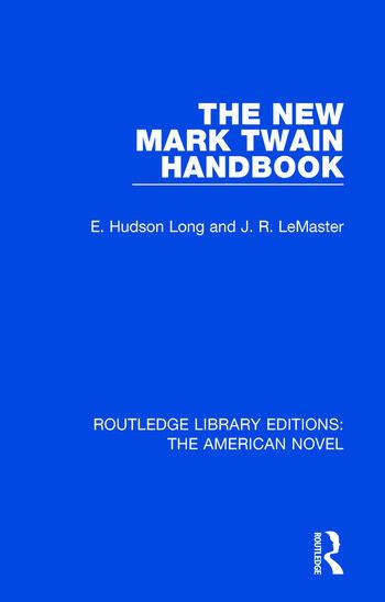 The New Mark Twain Handbook book cover