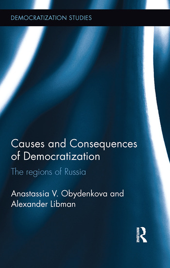 Causes and Consequences of Democratization The regions of Russia book cover