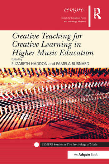 Creative Teaching for Creative Learning in Higher Music Education book cover