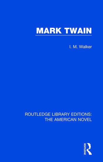 Mark Twain book cover
