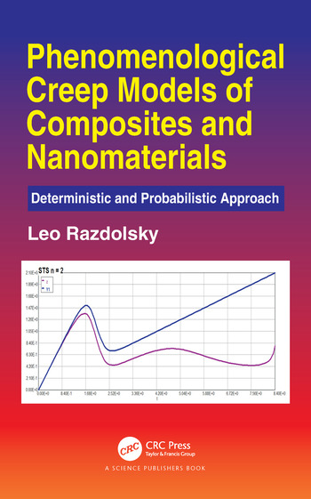Phenomenological Creep Models of Composites and Nanomaterials Deterministic and Probabilistic Approach book cover