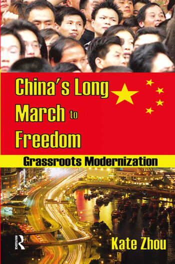 China's Long March to Freedom Grassroots Modernization book cover