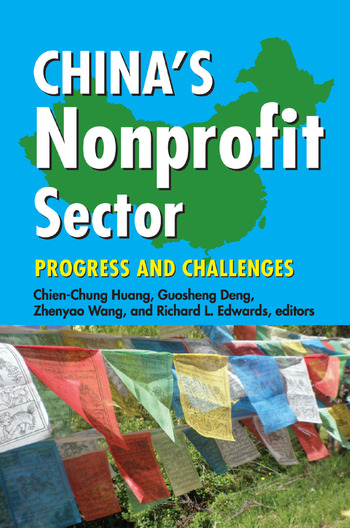 China's Nonprofit Sector Progress and Challenges book cover